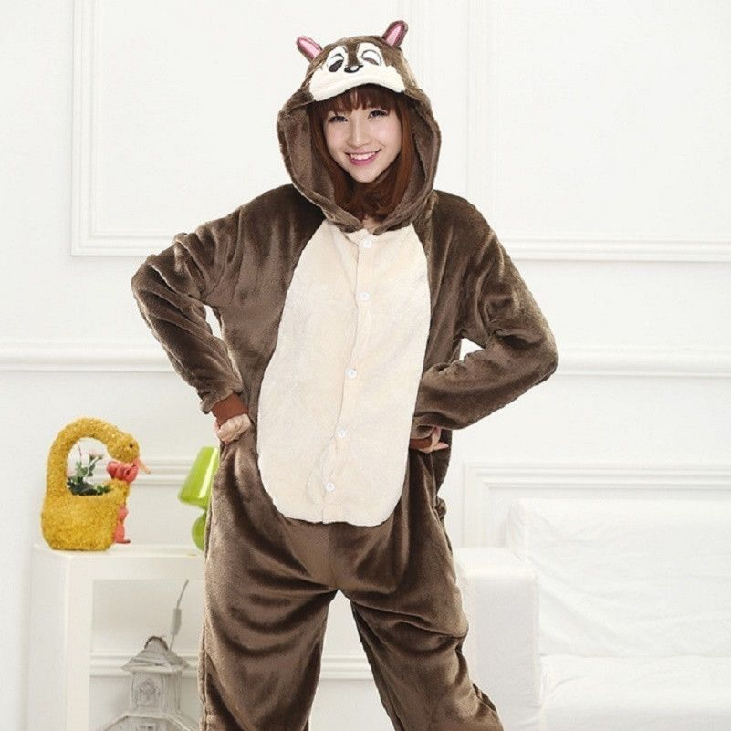 Panda onesies for adults Flannel Anime Pajama Cartoon Unisex Cosplay  kigurumi Animal Pajamas for women one piece pijama femme f62a681f2