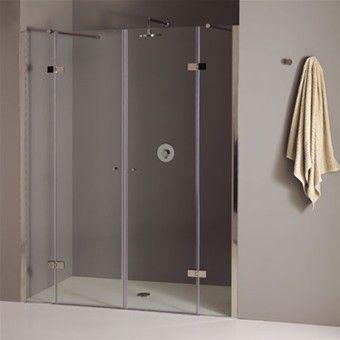 GAL_Cabina doccia in nicchia con doppia porta a battente