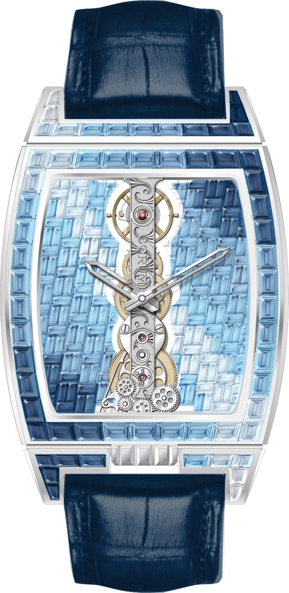 A spectacular interpretation of Corum's Golden Bridge, with the