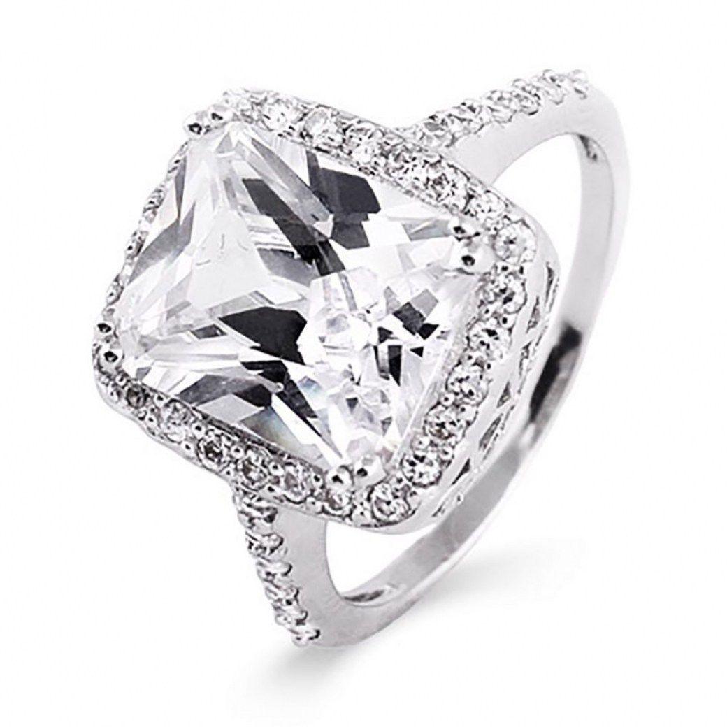 31 Beautiful Fake Diamond Wedding Rings That Look Real Best Inspiration