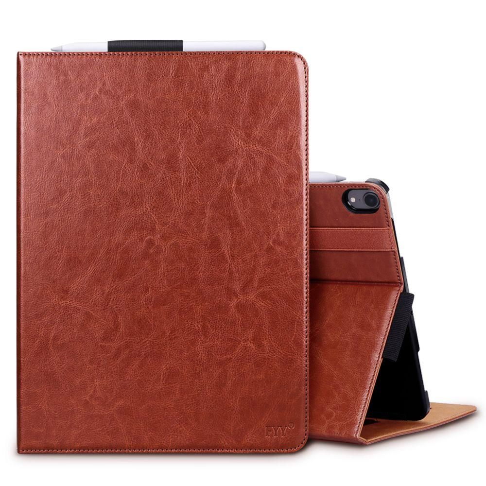 "online retailer 4ef9c f7b02 Folio Leather Case for iPad Pro 12.9"" (2018) 