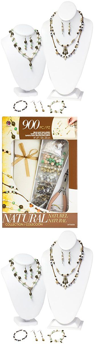 Other Jewelry Making Kits 162102: Jewelry Basics Class In A Box Kit Naturals Glass -> BUY IT NOW ONLY: $35.87 on eBay!