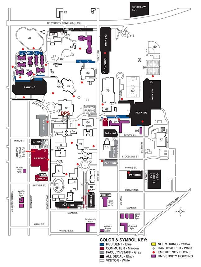 Twu Campus Map Twu Campus Map | Earth Map