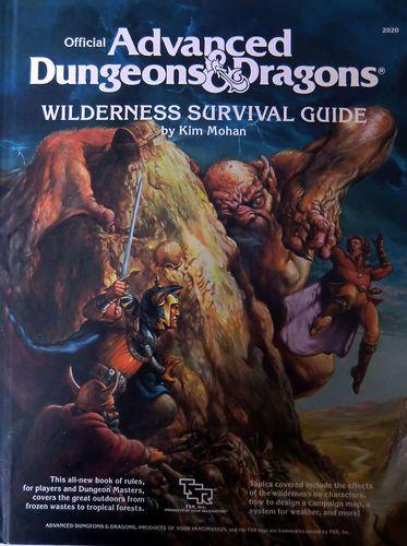 Add Wilderness Survival Guide Tsr 2020 1986 Hardcover Dd