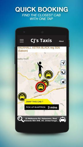 Install the app for booking the cab or taxi in Wyke, Taxi booked in few taps, also can specify extra facility and manage your favourite locations so no need input again, can call directly Treble 60 to book the taxi.  http://Mobogenie.com