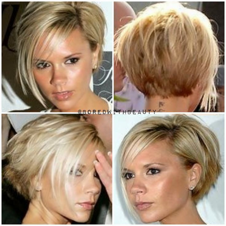 Victoria Beckham Short Haircut Hair Cuts Hairstyles Like A New
