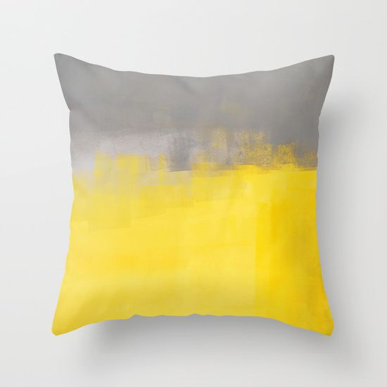 A Simple Abstract Throw Pillow