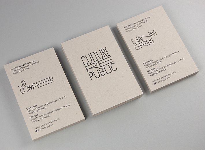 Culture Republic Business Card Design Inspiration Card Nerd Business Card Design Inspiration Business Card Design Premium Business Cards