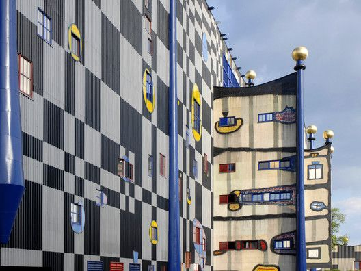 The Latest 99% Invisible: Hundertwasser and His Fight Against the Godless Line,Spittelau Incineration Plant, Vienna, Austria. Image © Flickr CC User Jean-Pierre Dalbéra