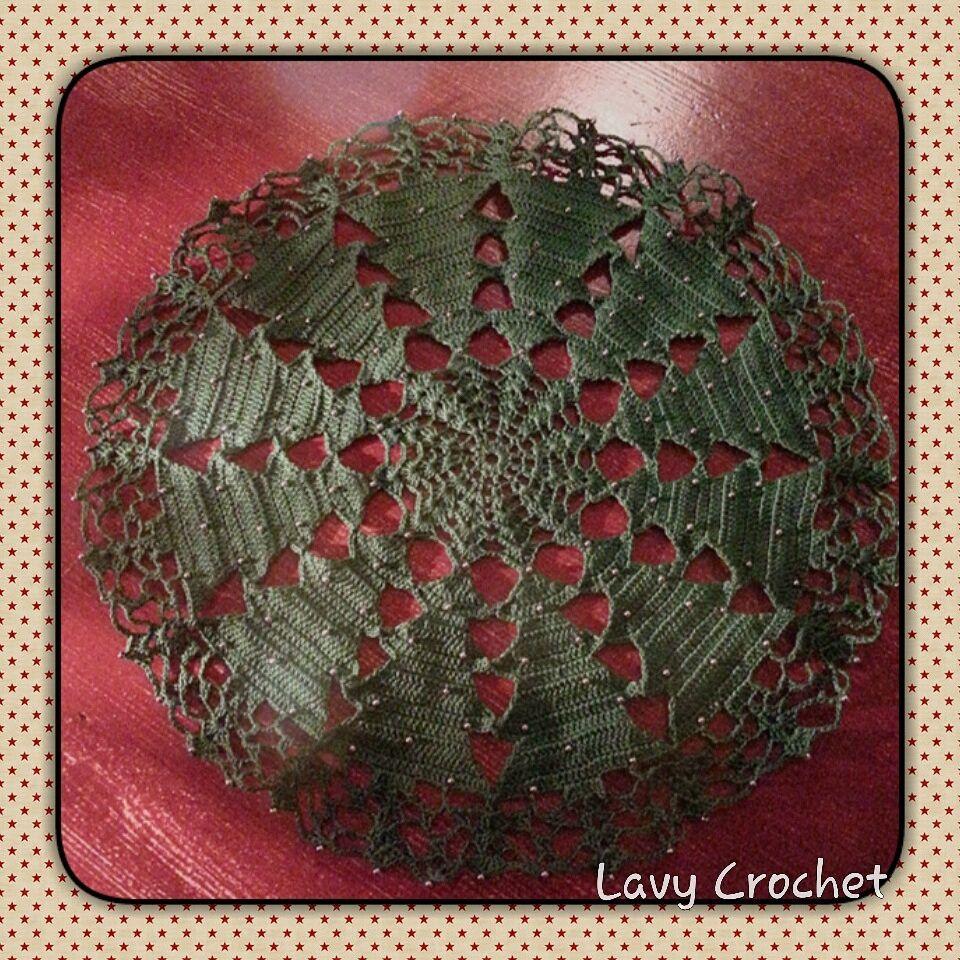Christmas, crochet, uncinetto, natale, centrotavola