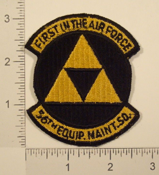 USAF First In The AIR FORCE 56th EQUIPMENT MAINTENANCE