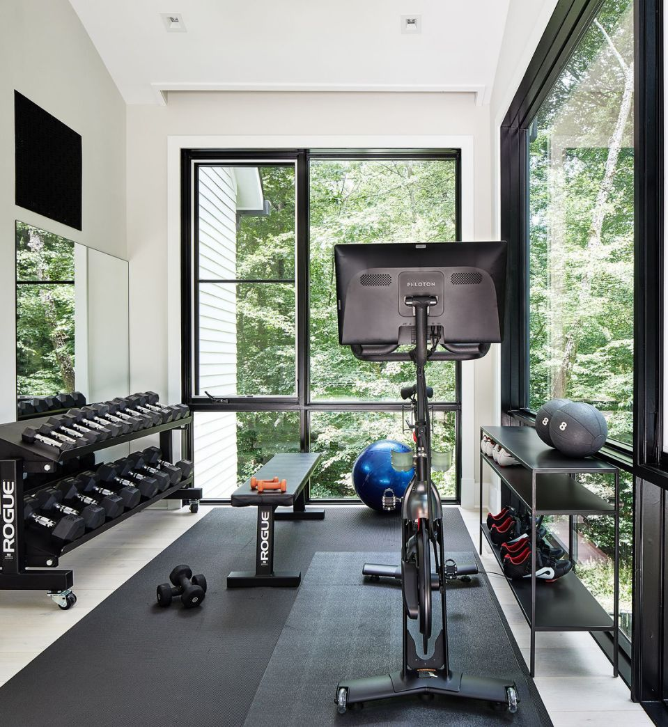 Home Gym Design Ideas Basement: 10 Home Gym Ideas To Help You Create The Ultimate Workout