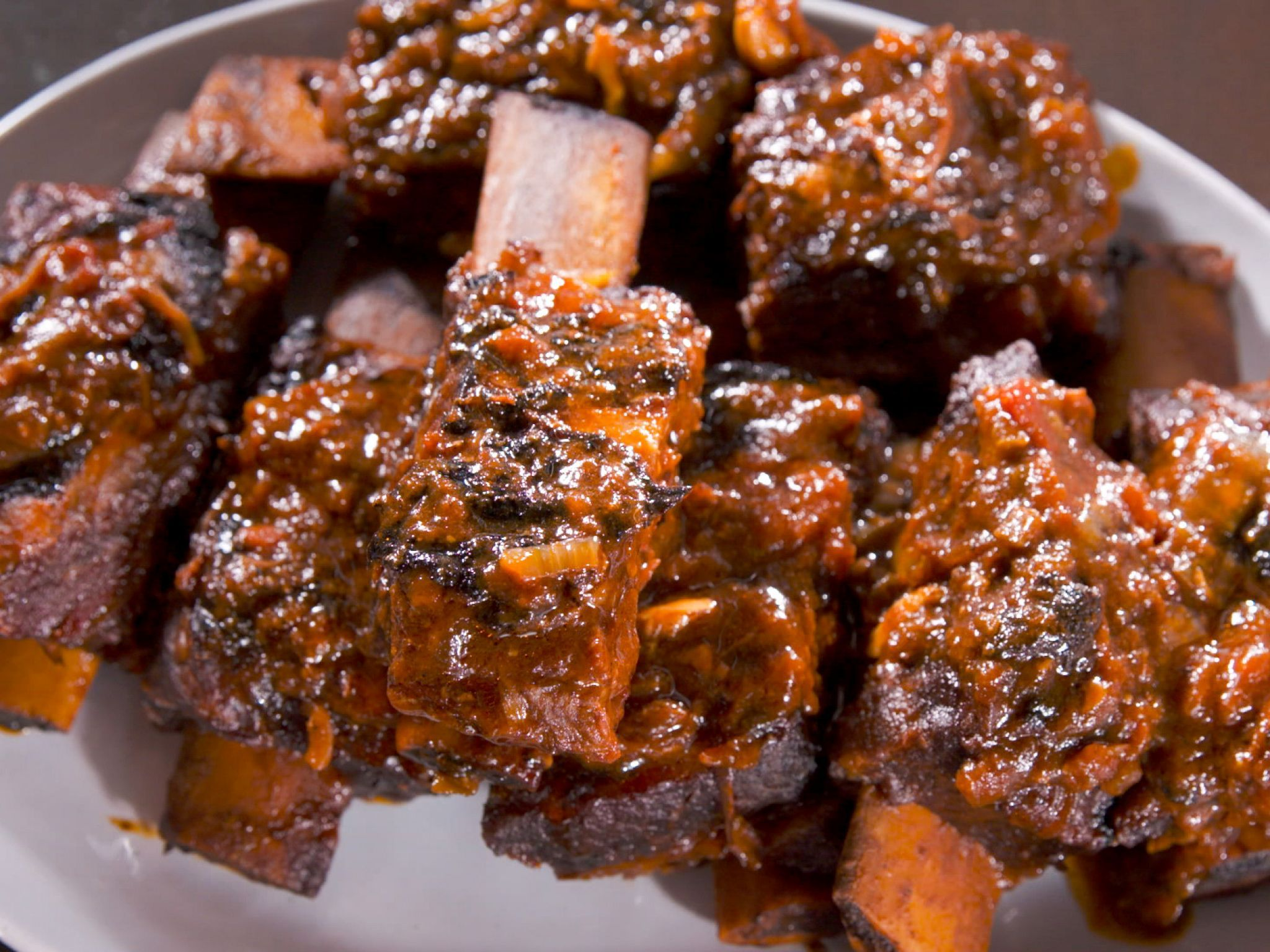 Sweet And Sticky Bbq Beef Ribs