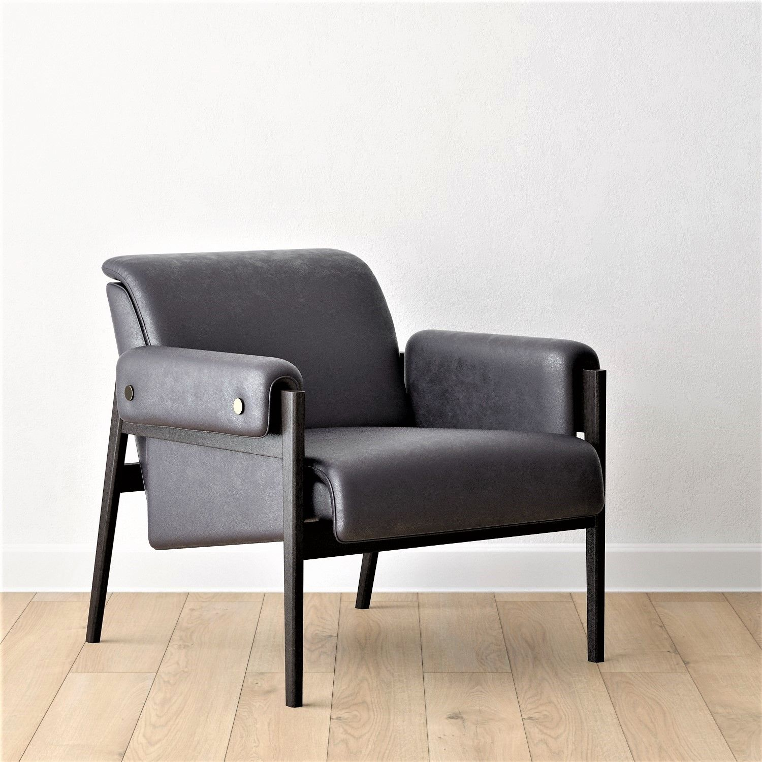 Super West Elm Stanton Leather Chair In 2019 3D Models Chair Alphanode Cool Chair Designs And Ideas Alphanodeonline