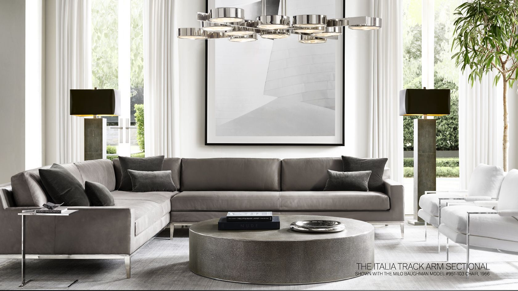 Rh Modern Where Less Is More And Minimal Is Magnified Luxury Living Room Design Luxury Living Room Restoration Hardware Living Room [ 945 x 1680 Pixel ]
