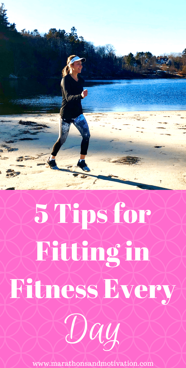9502d820b429 Five Tips for Fitting in Fitness Every Day  Daily exercise tips for people  with limited