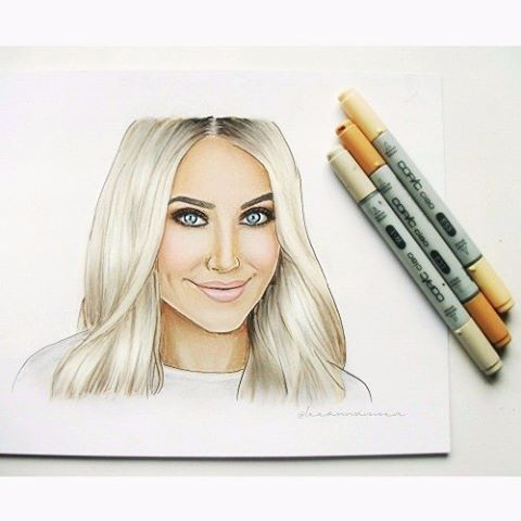 All done! The beautiful #laurencurtis ❤ #youtuber #beauty #makeupartist #fashionillustration #fashiondoodles #fashionillustrations #fashionsketch #fashiondrawing #fashionart #fashiondesign #fashionillustrator #fashiondesigner #fashionartist #design #designer #illustrator #sketch #drawing #art #artist #illustration #fashion #illustrate #copicmarkers #copics #fabercastell #polychromes #leeannvisserillustrations