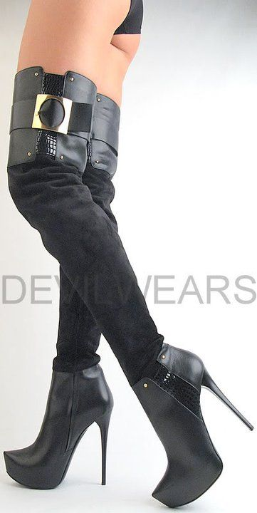 Heels forum high boots Abused Worn