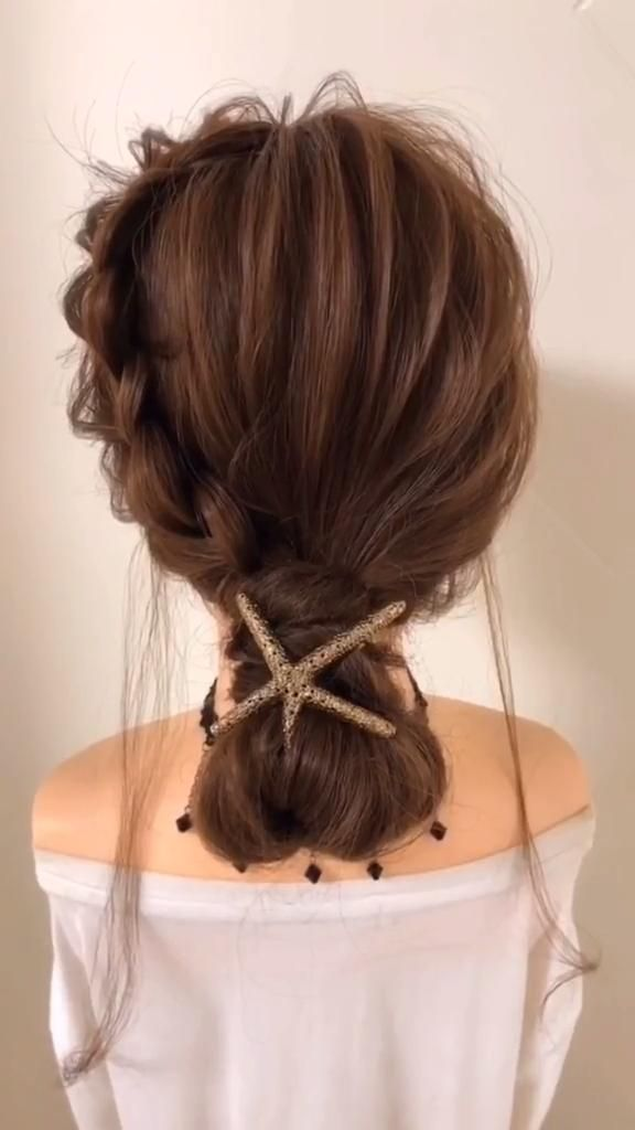 Easy hairstyles for medium hair quick braided video 70 Super DIY Hairstyle Ideas For Medium Length -   24 hairstyles Videos women ideas