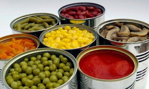 Pro Y Contras De Los Vegetales En Lata | Cancer causing foods, Food, Food shop