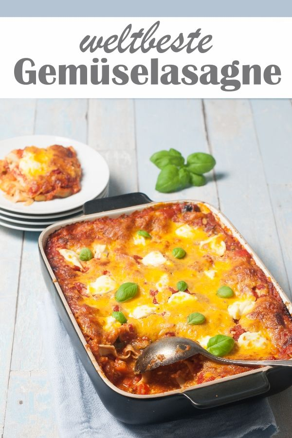 Photo of World's best vegetable lasagna.