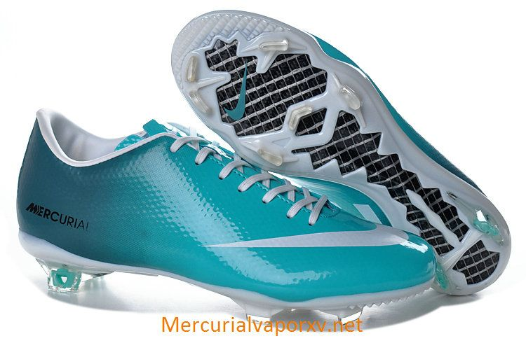 Nike Mercurial Vapor IX FG Soccer Cleats Jade Blue White  fb6595982d