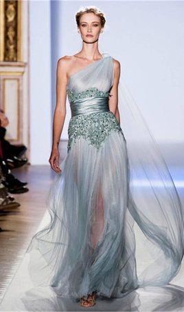 Elegant One Shoulder Prom Dresses A Line Sexy Slit Sash Sequined Crystal Floor Length Formal Evening Gowns