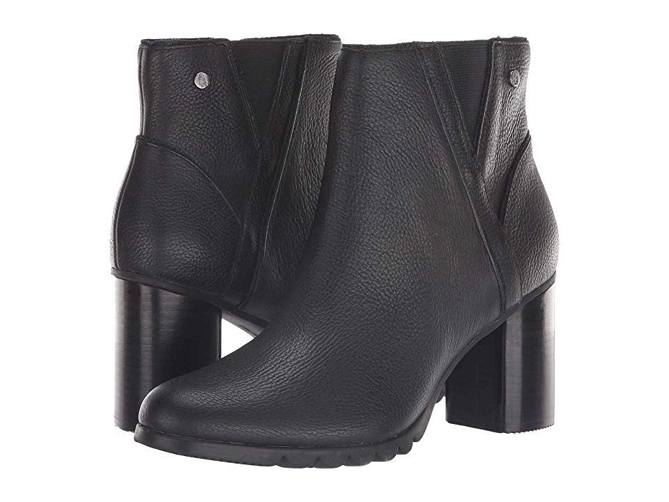 Hush Puppies Spaniel Ankle Boot (Black
