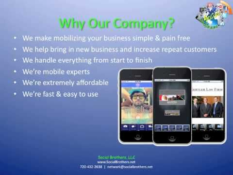 Short informative video on Mobile Apps for small businesses and professionals.