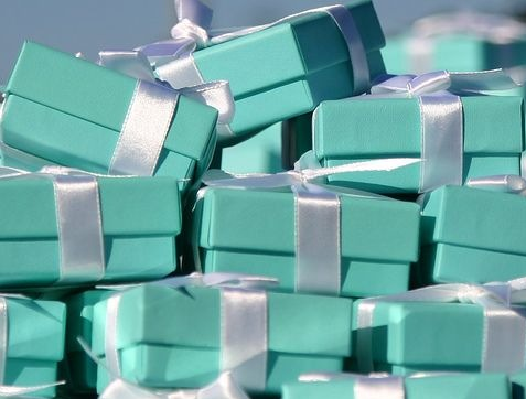 Little Blue Boxes Bleu Pinterest Colors Tiffany box and Boxes