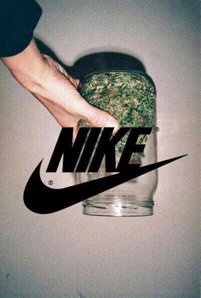 #ganja #420 #smoke #nike