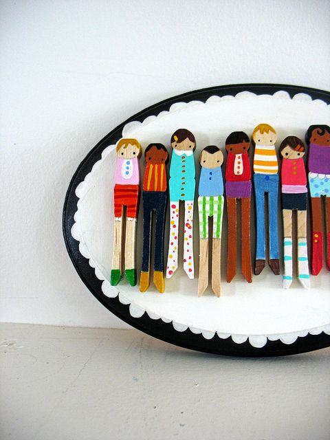 Clothespin Doll Furniture Patterns