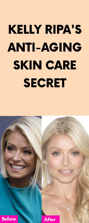 Kelly Ripa S Anti Aging Skin Care Secret Weird
