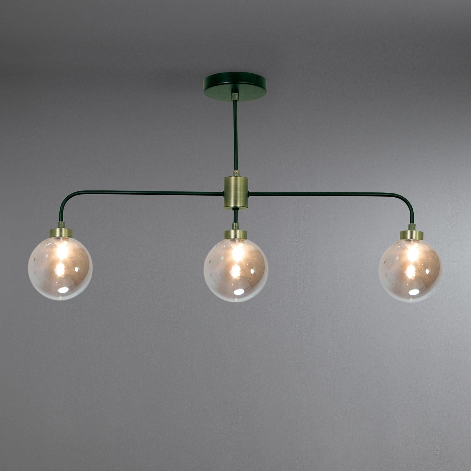 Tanner Black 3 Light Ceiling Fitting Dunelm 2 Pinterest