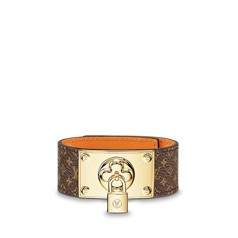 Monogram Accessories Leather Bracelets Lv Blossoming Bracelet