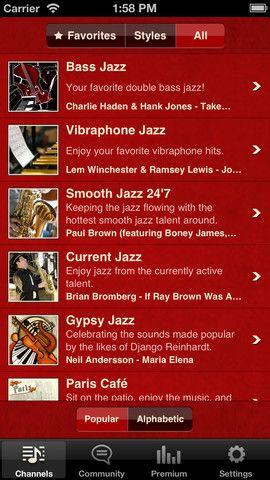 Jazz Radio!  무료로 듣는 음악