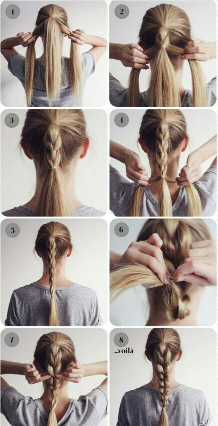 Unusual Braid Out Of Many Braids Hair Styles Medium Length Hair Styles Long Hair Styles