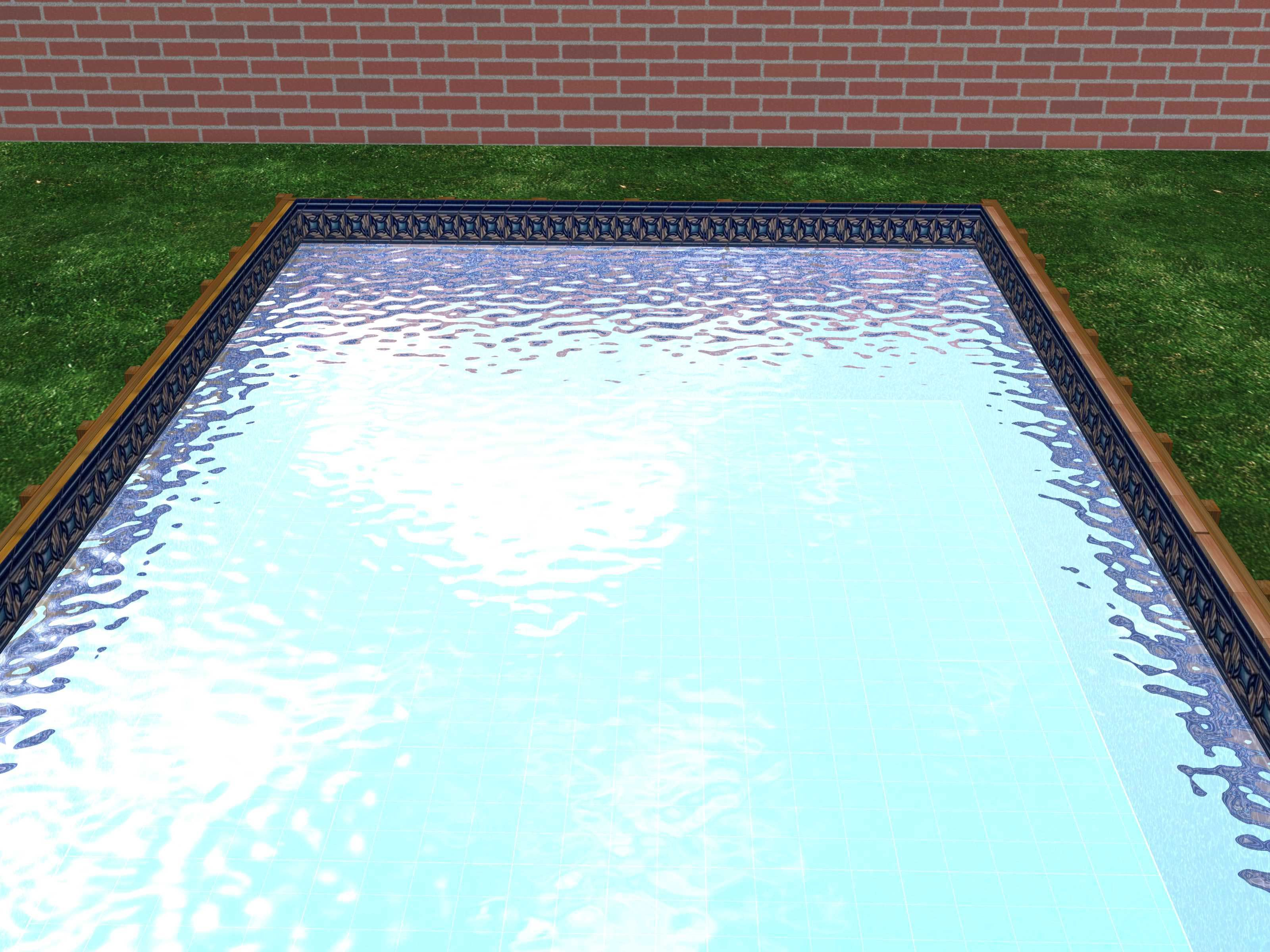 Build A Swimming Pool From Wood And Plastic Diy Swimming Pool