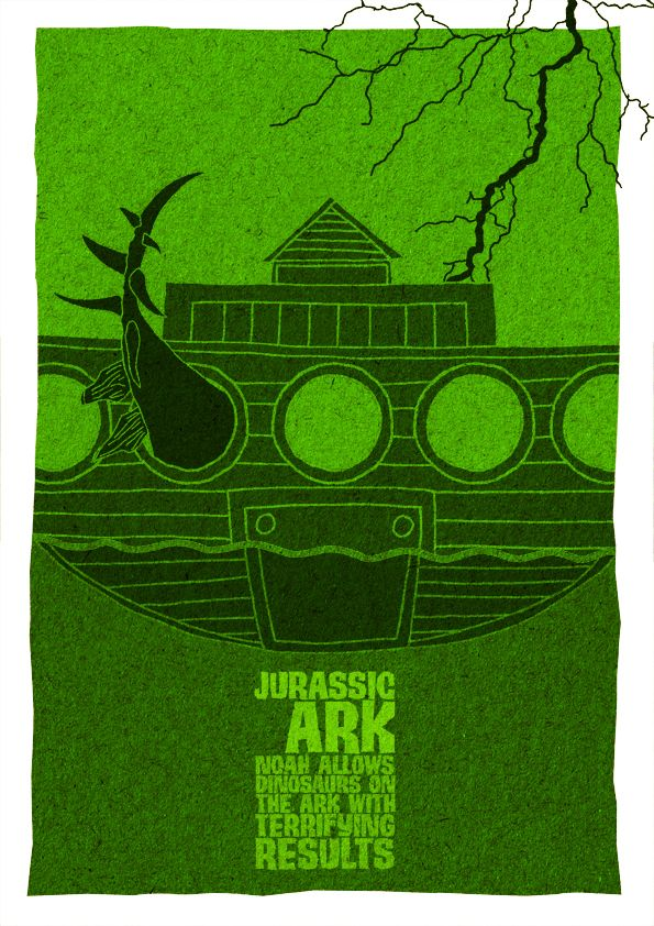 Jurassic Ark by Austin Richards and Des Creedon.