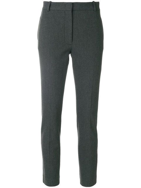 tailored cropped trousers - Black Joseph