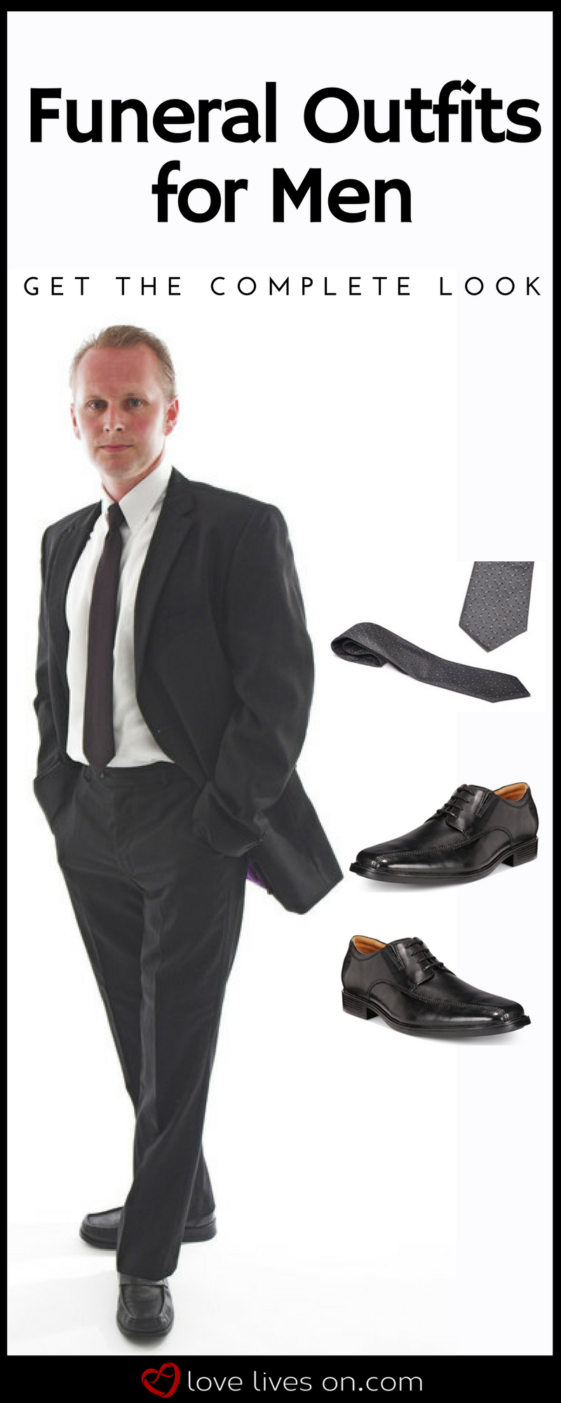 what to wear to a funeral or memorial service for men in