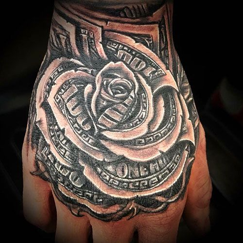 Best Money Tattoos ideas for man's | Money tattoo, Tattoos ...
