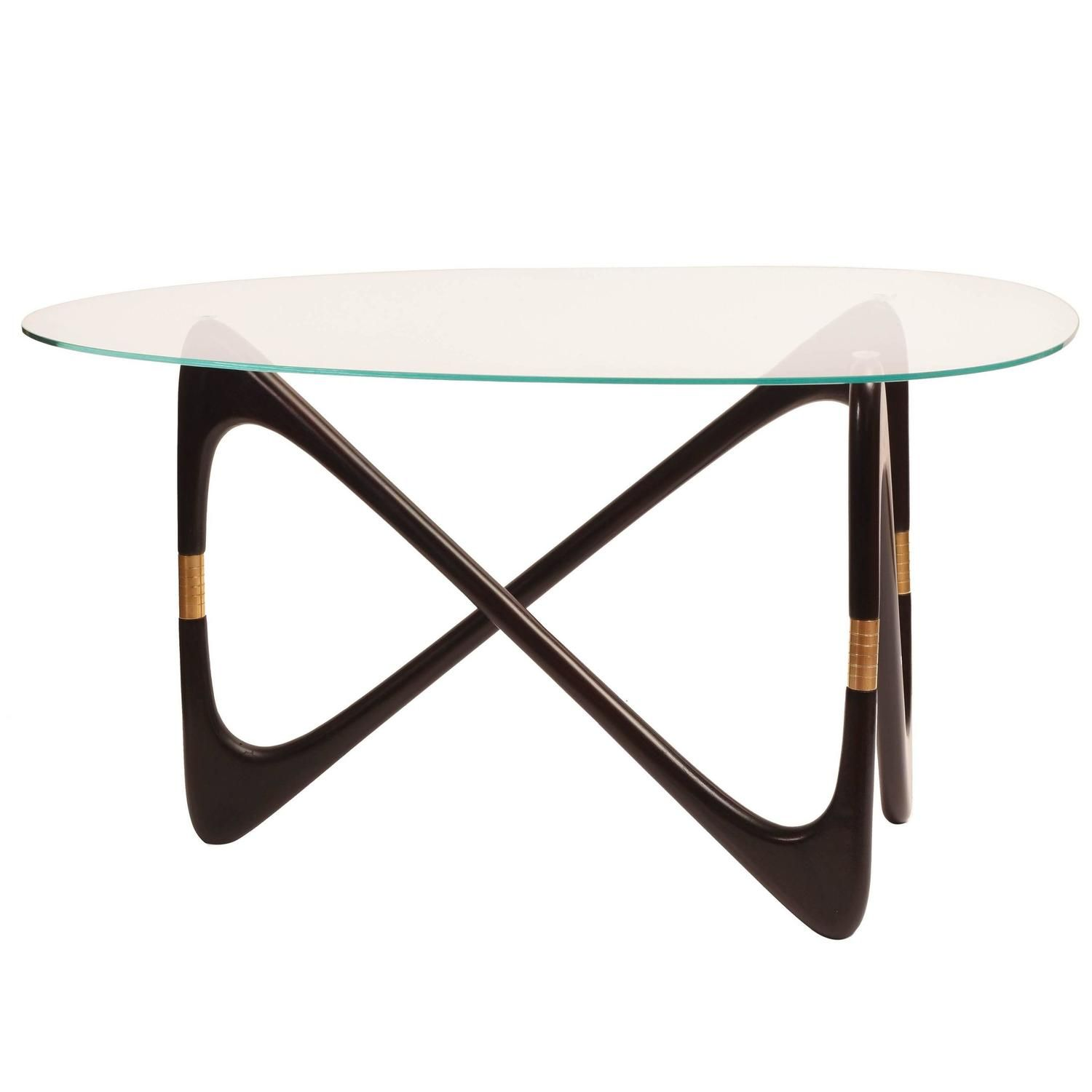 1950s Italian Triangular Coffee Table Attributed To Cesare Lacca Coffee Table Table Mid Century Dining Table [ 1500 x 1500 Pixel ]