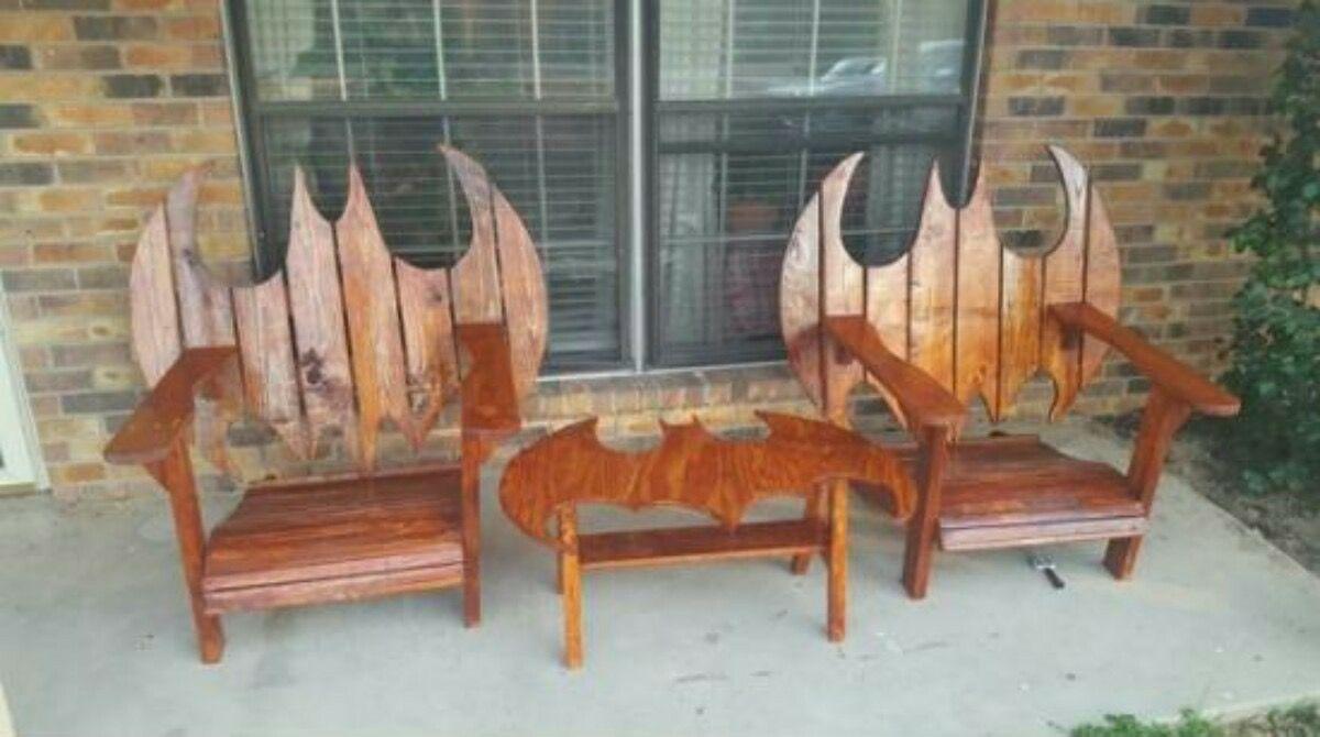 homemade outdoor furniture