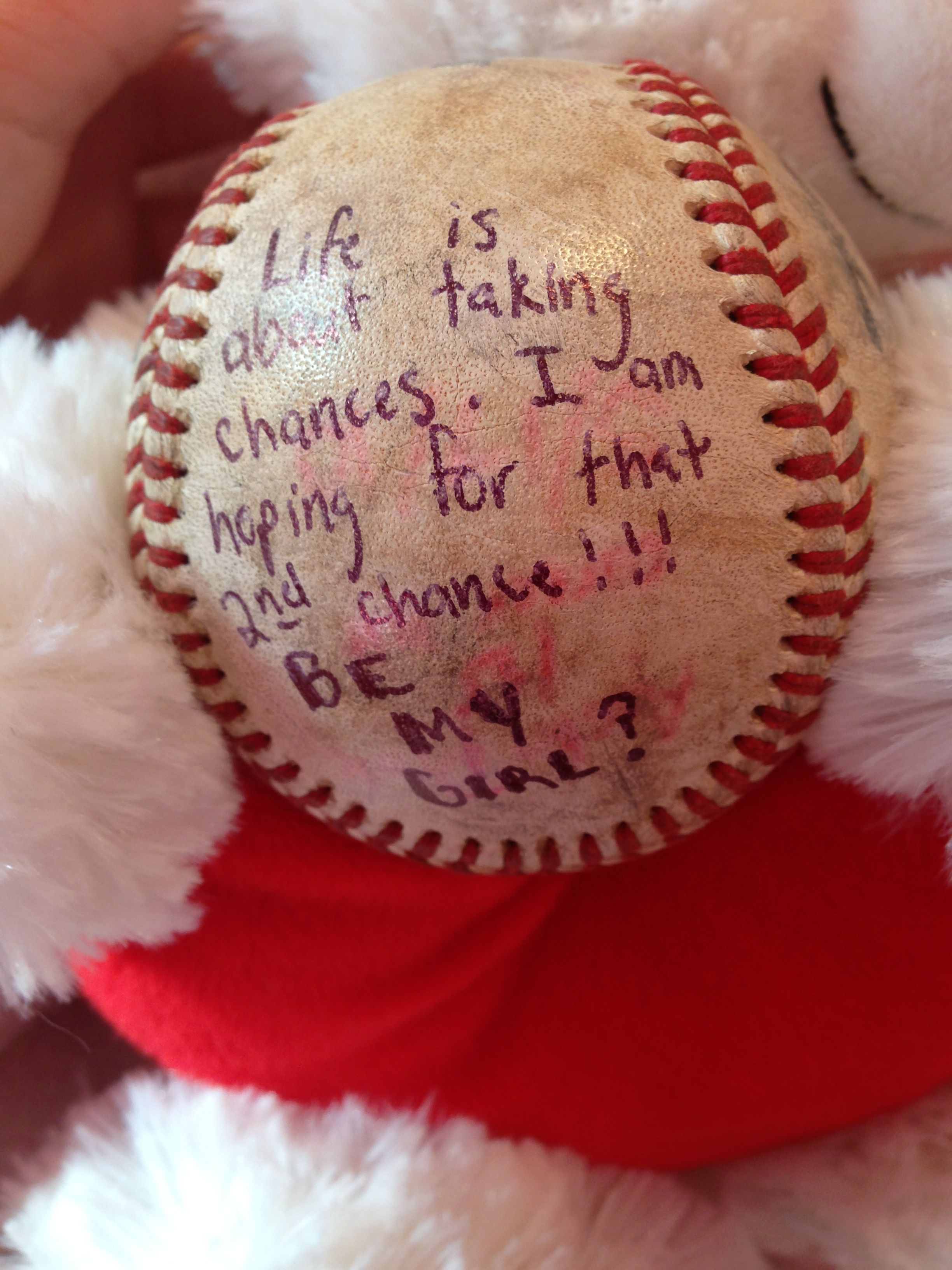 Totally Wish A Cute Baseball Player Would Do This For Me!!!! �
