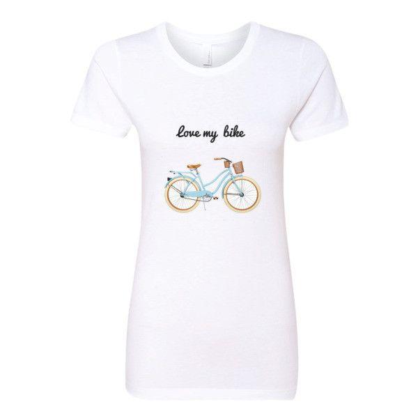 love my bike-Women's t-shirt