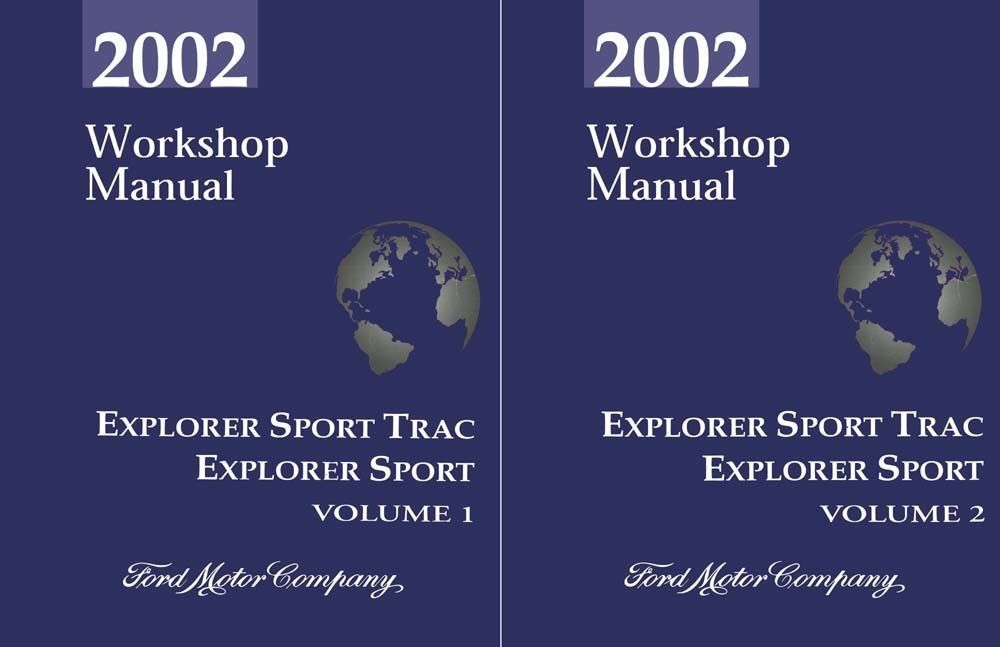 ford explorer sport trac service manual