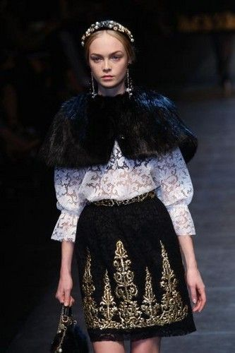 Dolce & Gabbana 2012 (The skirt!)