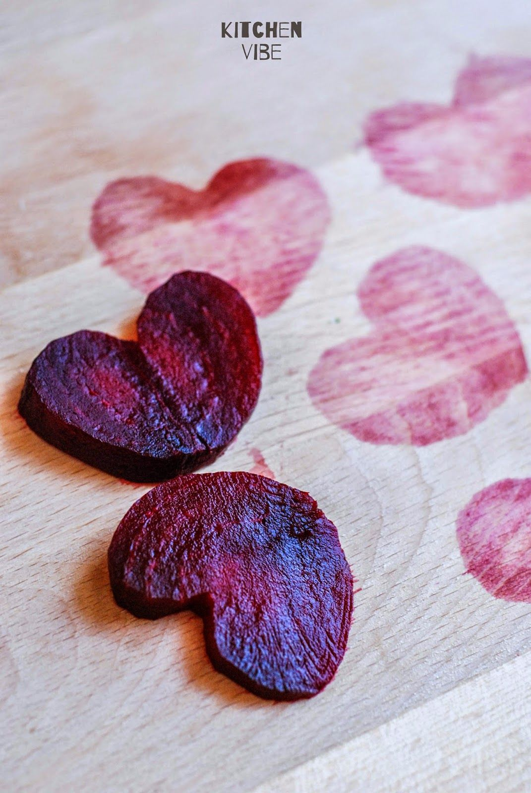beetroot hearts