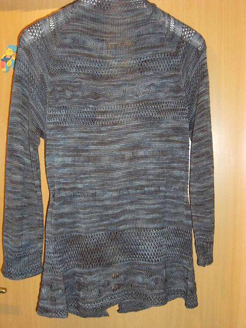 Pamuya Jacke - Einzelstück -  Wollmeise Lace Garn